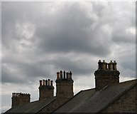 NU0052 : Chimneypots at Berwick-on-Tweed, from the Town Wall by Gerald Massey