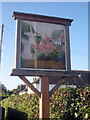 TQ7822 : Staplecross Village Sign by Oast House Archive
