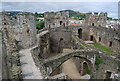 SH7877 : Conwy castle - the interior by N Chadwick
