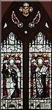 TR3748 : St John the Evangelist, Kingsdown, Kent - Window by John Salmon