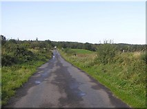 G7453 : Road at Liscally by Kenneth  Allen
