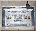 TG0004 : St Andrew, Southburgh, Norfolk - Memorial WWI & WWII by John Salmon