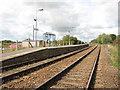 TM4598 : Haddiscoe station - shelter on north-bound platform by Evelyn Simak
