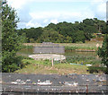 TM4698 : Railway swing bridge over the Waveney by Evelyn Simak
