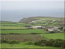 SW4538 : Trewey farm by David Medcalf