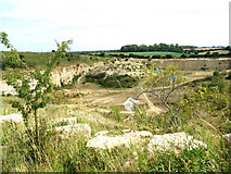 SE5114 : Quarry off Long Lane by Bill Henderson