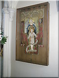 SU6400 : Mothers' Union banner within All Saints, Portsea by Basher Eyre