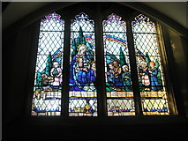 SU6400 : Stained glass window on the south wall at All Saints, Portsea by Basher Eyre