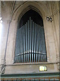 SU6400 : The organ at All Saints, Portsea by Basher Eyre