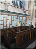 SU6400 : Choir stalls within All Saints, Portsea by Basher Eyre