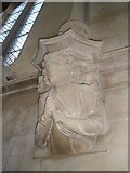 SU6400 : Angel above the choir stalls at All Saints, Portsea by Basher Eyre