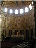 SU6400 : The altar at St Agatha, Portsea by Basher Eyre