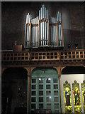SU6400 : The organ at St Agatha, Portsea by Basher Eyre
