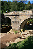 SK1695 : Pack Horse Bridge by David Lally