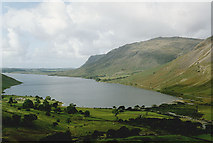 NY1807 : The head of Wast Water by Nigel Brown