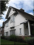 SJ3384 : Houses at Port Sunlight (Queen Mary's Drive) by Gerald Massey