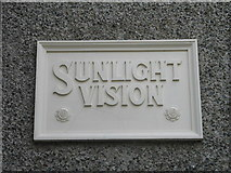 SJ3384 : Port Sunlight Museum (Wall Plaque) by Gerald Massey