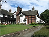 SJ3384 : Houses at Port Sunlight by Gerald Massey