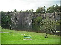 NS7177 : Auchinstarry quarry by Jim Smillie