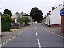 TM3877 : Station Road, Halesworth by Adrian Cable