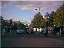 TQ4088 : Streetlight replacement on Wanstead High Street by Robert Lamb