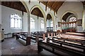 TL9991 : All Saints, Snetterton, Norfolk - North arcade by John Salmon