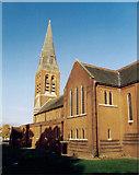 SU8651 : St Michael & St George, Aldershot by Michael FORD