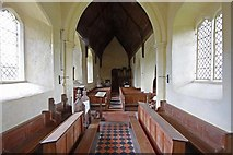TM3898 : St Gregory's Church, Heckingham, Norfolk - West end by John Salmon