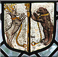 TG3500 : St Michael's church - Continental stained glass by Evelyn Simak