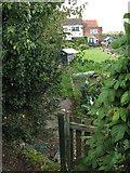 TM3898 : Cottages at Heckingham Holes by Evelyn Simak