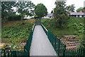 TQ5336 : Tunbridge Wells Circular Path - footbridge over the Spa Valley line, Groombridge by N Chadwick