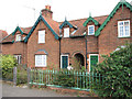 TM3699 : Almshouses in Langley Road by Evelyn Simak