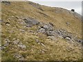 NN3846 : Boulderfield,  northeast ridge, Beinn a' Chreachain by Richard Webb