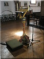 SU6601 : The lectern at St Alban's, Copnor by Basher Eyre