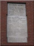 SJ8298 : In Memoriam, Salford Royal Hospital by Peter Whatley