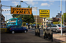 TQ1090 : Discount Tyres by Martin Addison