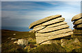 SW4638 : Zennor Hill Rock Formations by Cornwall Guide