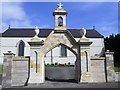 G9538 : Entrance to church, West Barrs by Kenneth  Allen