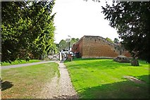 TL6706 : All Saints, Writtle, Essex - Churchyard by John Salmon