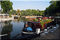 TQ2681 : Narrowboat Café at Little Venice by Oast House Archive
