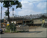 TG2407 : South Stand, Carrow Road, Norwich City Football Club by Martin Thirkettle
