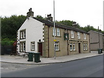 SD9311 : The 'Bird in Hand', Huddersfield Road, Newhey by Dr Neil Clifton