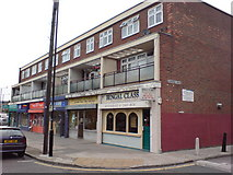 TQ3780 : Shops and Flats, Pennyfields by Danny P Robinson