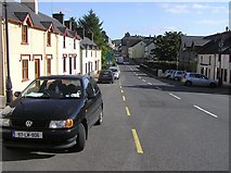 G8839 : Castle Street, Manorhamilton by Kenneth  Allen