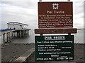 SD2364 : Piel Ferry Information by Colin Kinnear