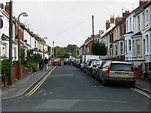 SU1484 : Exmouth Street, Swindon by Brian Robert Marshall