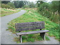 SS6441 : Commemorative Bench at Wistlandpound by Barrie Cann