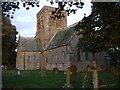 NY1133 : St Bridget's Church, Bridekirk by John Lord
