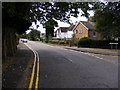 TL7204 : Vicarage Lane, Great Baddow by Adrian Cable
