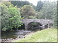 NO0662 : The old bridge over the River Ardle at Enochdhu by Russel Wills